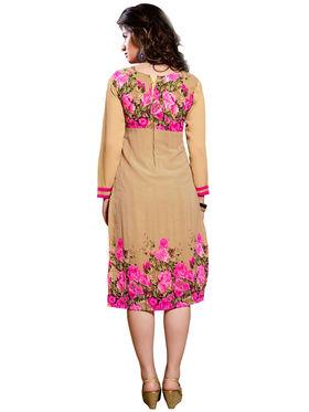 Khushali Fashion Georgette Printed Stitched Kurti -Cnt1755