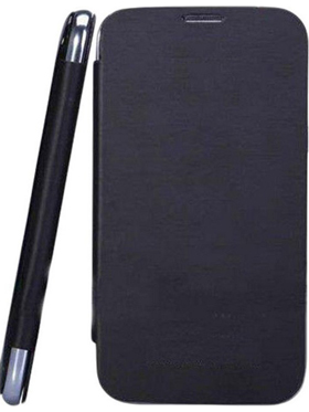 Camphor Flip Cover for Micromax A61 - Black