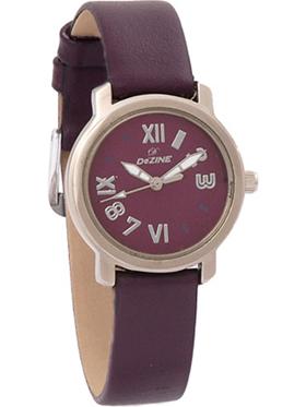 DEZINE DZ-LR050 Wrist Watch - Purple