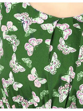 Arisha Crepe Printed Dress DRS1045ehandi-M