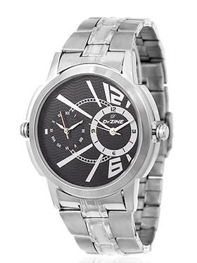 Dezine Wrist Watch for Men - Black_DZ-GR090-BLK-CH