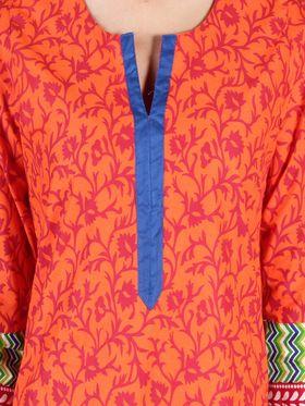 Branded Cotton Printed Kurtis -Ewsk0715-1411