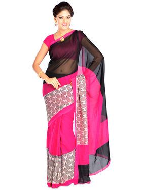 Exotic Collection of 7 Georgette Sarees (7G8)
