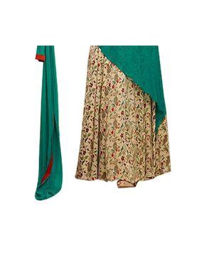Fabfiza Embroidered Georgette Semi Stitched Anarkali Suit_FBLT-88003