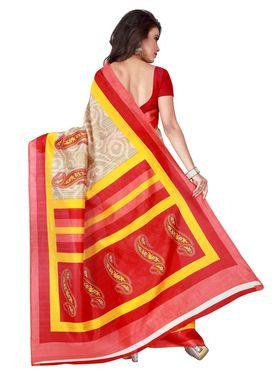 Florence Printed Bhagalpuri Silk Sarees FL-11684