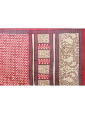 Florence Printed Bhagalpuri Silk Sarees FL-11686