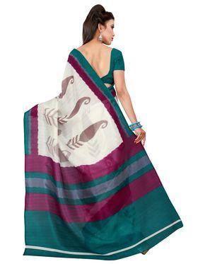 Florence Printed Bhagalpuri Silk Sarees FL-11694