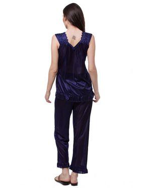 Pack of 6 Fasense Satin Plain Nightwear - DP114 B