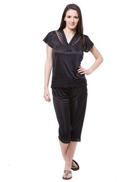 Pack of 6 Fasense Satin Plain Nightwear - DP115 B