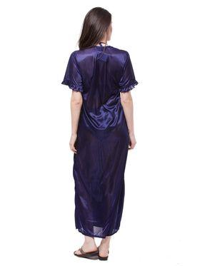 Pack of 6 Fasense Satin Plain Nightwear - DP116 B