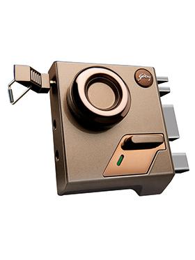 Godrej EXS Altrix 1CK Door Lock - Milano Bronze