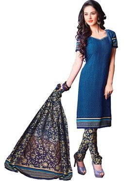 Khushali Fashion Crepe Printed Unstitched Dress Material -HNYVR1016