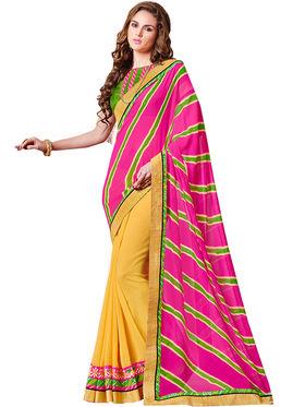 Indian Women Designer Printed Georgette Saree -Ic11209