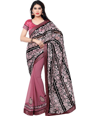 Indian Women Georgette Saree -IC40401