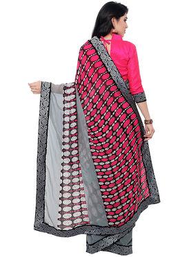 Indian Women Georgette Saree -IC40423