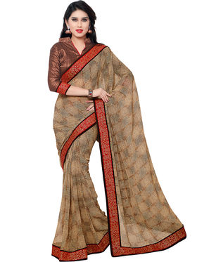 Indian Women Georgette Saree -IC40427
