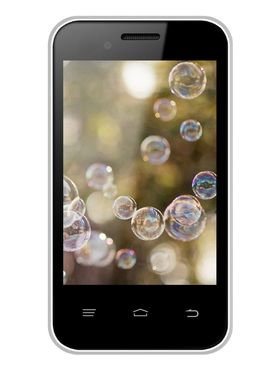 Intex Cloud X15+ 3.5-inch Android Kitkat 3G Smartphone - White & Grey
