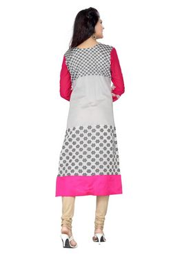 Ishin  Georgette Embroidered Kurti - Multicolour_INDSL-CHETNA