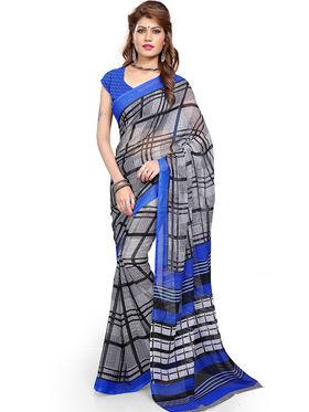 Arisha Georgette Printed Saree -Khgjsbar09