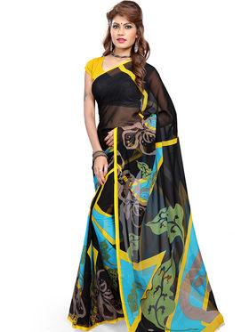 Arisha Georgette Printed Saree -Khgjsbar26