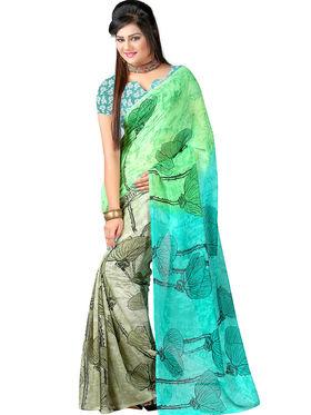 Arisha Georgette Printed Saree -Khgsstar110