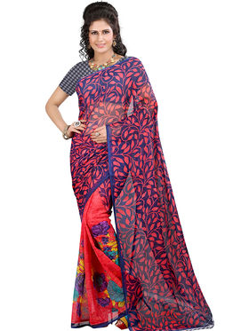 Arisha Georgette Printed Saree -Khgsstar191