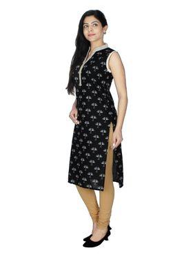 Sai Arisha Solid Cotton Kurti -ars44