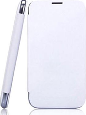 Branded Flip Cover for Karbonn Titanium S1   White available at Naaptol for Rs.210
