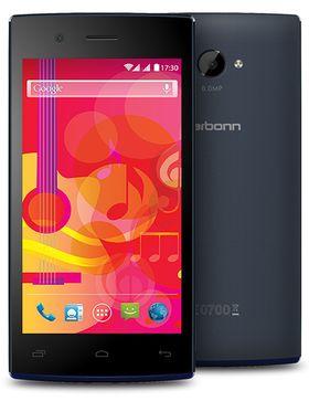 Karbonn Titanium S30 Desire Android Kitkat Dual Sim phone - Black