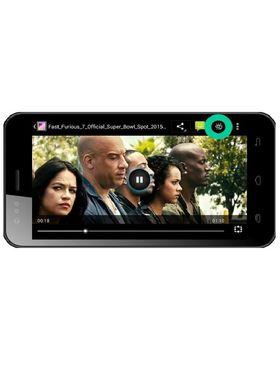Karbonn Titanium Delight S22 4.5 Inch FWVGA, Quadcore, 3G, Dual Sim Mobile - Black & Grey