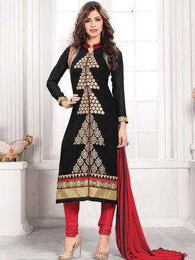 Viva N Diva Semi Stitched Georgette Embroidered Suit Kesa-19