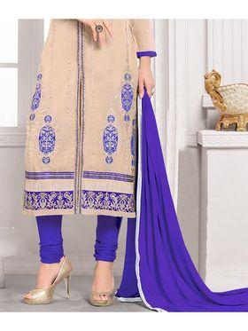Viva N Diva Semi Stitched Georgette Embroidered Suit Kesa-22