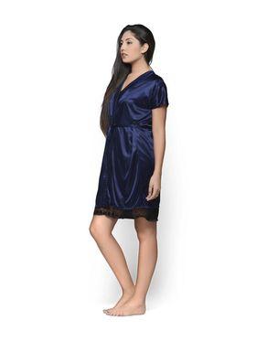 Set of 2 Klamotten Satin Solid Nightwear - X01-67