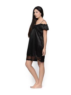 Set of 2 Klamotten Satin Solid Nightwear - X31-101