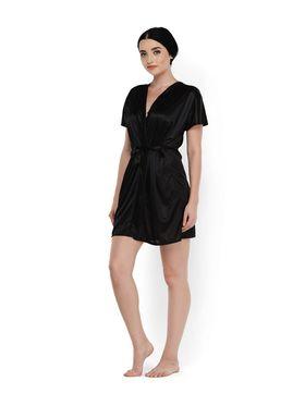 Set of 2 Klamotten Satin Solid Nightwear - X81-101