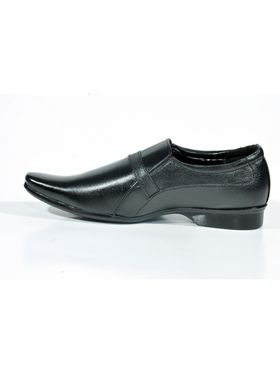 Kohinoor Footwears Artificial Leather Formal Shoes - Black-3174