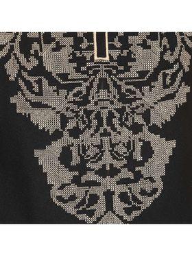 Kyla F Cotton Embroidered Kurti - Black - KYL590