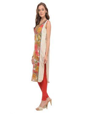 Lavennder Khadi Printed Kurti -LK-62217