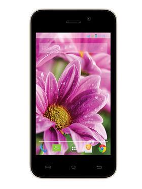 LavaIRIS ATOMX 4 Inch Android 4.4.2 KitKat - Black