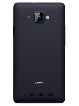Lava Iris 370 Android Kitkat Dual SIm Smartphone - Black & Blue