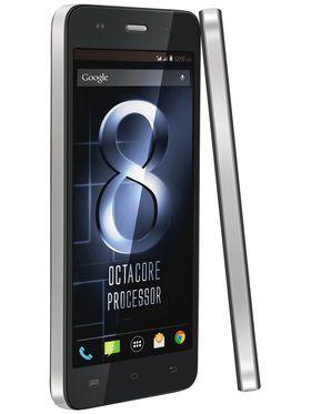 Lava Iris X8- Black 5 Inch HD IPS Display, Update to Lollipop, 1.4 Ghz Octa-Core Processor, 1 GB RAM, 8GB ROM