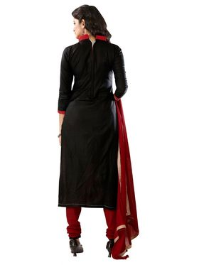 Khushali Fashion Glaze Cotton Embroidered Dress Material -Mcrdmhk802