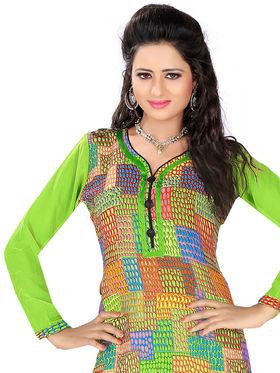 Khushali Fashion Georgette Printed Stitched Kurti -Msk2667