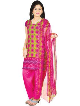 Manasvi Set of 7 Printed Dress Material (7P1) - AKSO