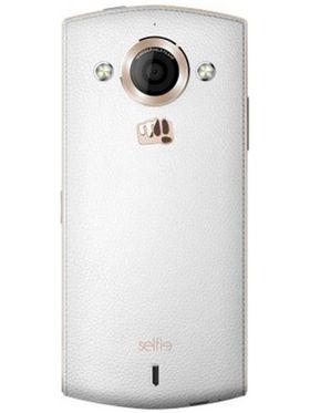 Micromax Canvas Selfie A255  - White & Gold