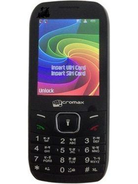 Micromax CG777 CDMA+GSM Phone - Black