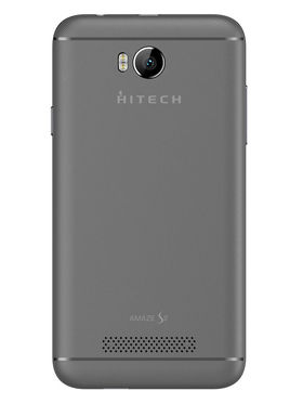 Hitech Amaze S2 4 Inch Quad Core 3G Android Kitkat Smartphone - Black & Grey