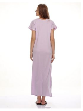 Clovia Cotton Blend Solid Nightsuit -NS0397P12