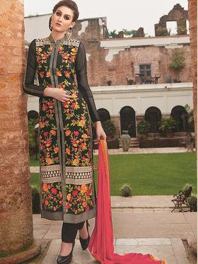 Viva N Diva Semi Stitched Georgette Floral Embroidered Semi Stitched Suits Nimaya-708