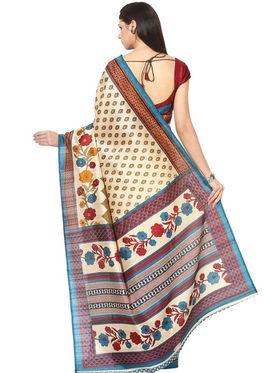 Branded Cotton Bhagalpuri Sarees -Pcsrsd72